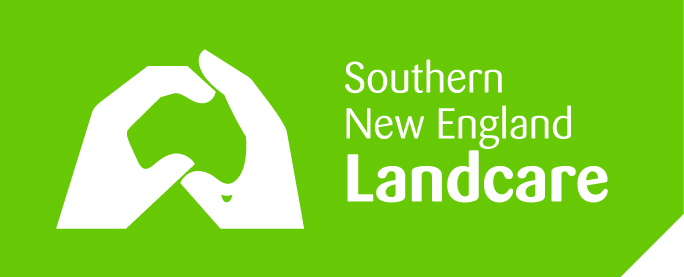 Landcare Inline White on Green