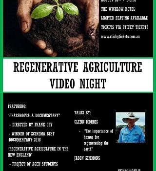 Regenerative Agriculture Video Night