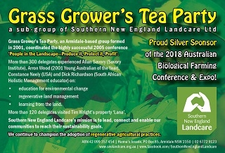 GGTP Sponsors Biological Farming Conference