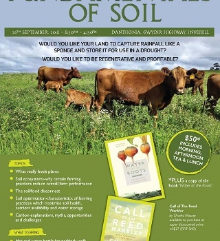 'Fundamentals of Soil' at Danthonia Hosts Popular Speakers