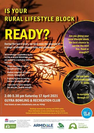 Climate Risk Workshop | Guyra & Black Mountain